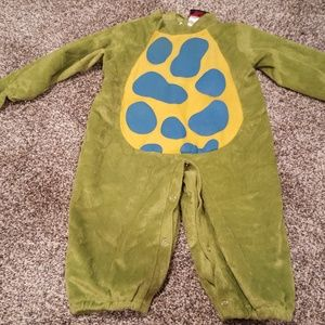 Green Dinosaur Halloween Costume Toddler M